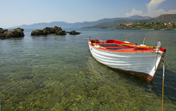 łódkowaty biel Obrazy Stock