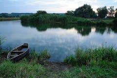 łódkowaty brzeg fotografia royalty free