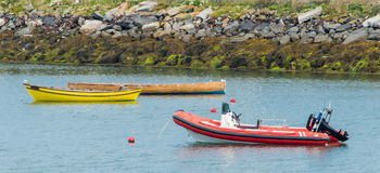 Łódkowaty cumowanie Zdjęcie Royalty Free