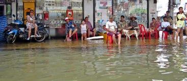 łódkowaty czekanie obraz stock