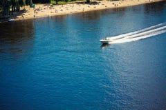 łódkowaty denny biel Zdjęcia Royalty Free
