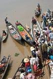 łódkowaty dok Fotografia Royalty Free