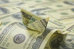 łódkowaty dolar Fotografia Stock