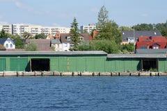 Łódkowaty dom Zdjęcie Royalty Free