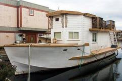 Łódkowaty dom Zdjęcia Royalty Free