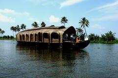 łódkowaty dom Kerala Zdjęcie Stock