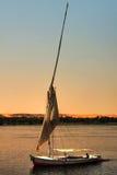 łódkowaty felucca Obrazy Royalty Free