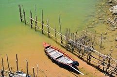 łódkowaty fishig Fotografia Royalty Free