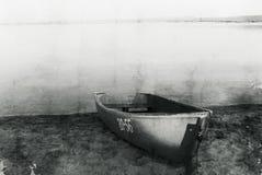 łódkowaty jezioro Fotografia Stock