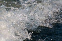 łódkowaty kilwater Zdjęcia Royalty Free