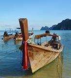 łódkowaty longtail Thailand Obrazy Royalty Free