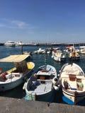 Łódkowaty marina Zdjęcia Royalty Free