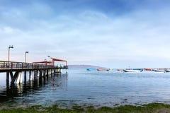 łódkowaty molo Venice Obrazy Royalty Free