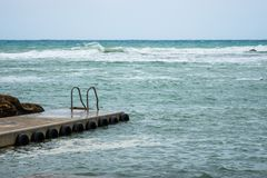 Łódkowaty molo w Malta fotografia royalty free