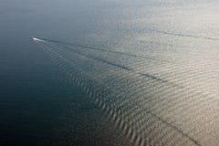 łódkowaty morze Obrazy Royalty Free