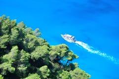 łódkowaty morze Zdjęcie Royalty Free