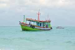 łódkowaty morze zdjęcia stock