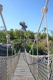 łódkowaty most Obraz Stock