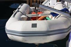 łódkowaty nadmuchiwany ratunek Zdjęcia Stock