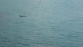 łódkowaty osamotniony morze zbiory