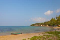 Łódkowaty Phu Quoc, Wietnam Zdjęcie Stock