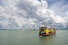 łódkowaty prom Penang obrazy stock