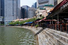 Łódkowaty Quay Zdjęcie Stock