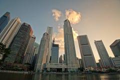 łódkowaty quay Singapore Obrazy Royalty Free