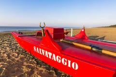 Łódkowaty ratownik Zdjęcie Royalty Free