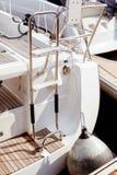 Łódkowaty stern i fender Zdjęcie Royalty Free