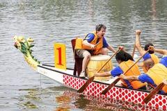łódkowaty target827_0_ smoka Obraz Royalty Free