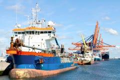 łódkowaty zbiornika pilota statek Obraz Royalty Free