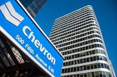 Óleo de Chevron imagens de stock royalty free