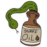 Óleo de serpente Foto de Stock
