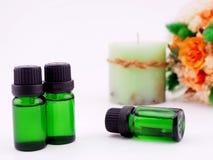 Óleo do aroma Fotografia de Stock