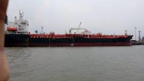 Óleo do navio fotografia de stock