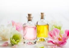 Óleo essencial do aroma foto de stock
