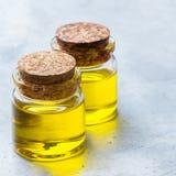 Óleo essencial orgânico com para beleza e tratamento dos termas Imagem de Stock Royalty Free