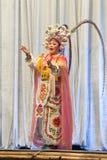 Ópera china Imágenes de archivo libres de regalías