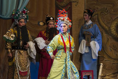 Ópera china Imagenes de archivo