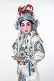 Ópera china imagen de archivo