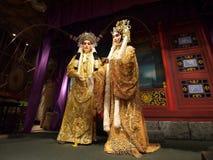 Ópera chinesa Foto de Stock Royalty Free