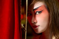 Ópera chinesa 3 Imagens de Stock Royalty Free