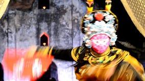 Ópera chinesa video estoque