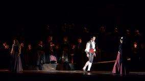 Ópera clásica Carmen almacen de metraje de vídeo
