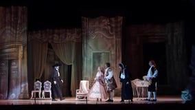 Ópera clássica o barbeiro de Sevilha vídeos de arquivo