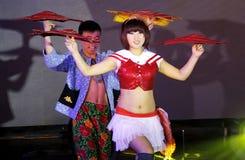 Ópera da dança dos pares Imagens de Stock