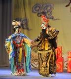Ópera de Adiós-Pekín: Adiós a mi concubine Foto de archivo libre de regalías