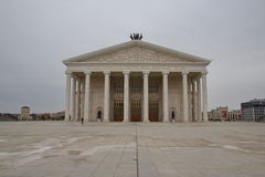 Ópera de Astaná foto de archivo