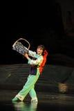 Ópera de bambu de Jiangxi da dança da minoria uma balança romana Imagem de Stock Royalty Free